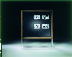 FLEXFORM MOKA Glass Cupboard, Designed By ASNAGO U0026 VENDER In 1999.