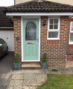 Bespoke Chartwell Green Composite Front Door. Henfield, Sussex.