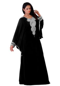 Dubai very fancy kaftans / abaya jalabiya Ladies by ZUBEDABOUTIQUE - Pinned by The Mystic's Emporium on Etsy