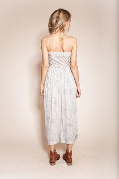 vintage pucci dress, shades of gray