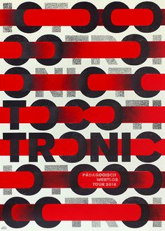 Tocotronic Gig Poster