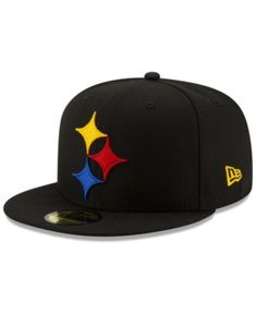 3246eb54a3f New Era Pittsburgh Steelers Logo Elements Collection 59FIFTY Fitted Cap -  Black 7
