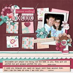 Layout using TRUE LOVE by JB Studio available as a Bundle or in separate packs at Go Digital Scrapbooking. Template is from SCRAP BY NUMBERS 1 by AK Designs available at Scraps N Pieces