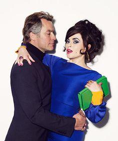 taylor/burton: Dominic West and Helena Bonham-Carter