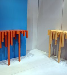consoLLLe 50 Diy Arts And Crafts, Contemporary Furniture, Consoles, Bar Stools, Cool Stuff, Home Decor, Mirrors, Mesas, Painted Wood