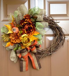 Hey, I found this really awesome Etsy listing at http://www.etsy.com/listing/127709086/grapevine-fall-wreath