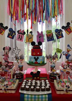 Wow! Check out this Mickey Mouse Clubhouse birthday t party! See more party ideas at CatchMyParty.com!