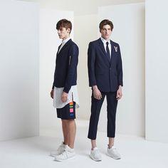 Munsoo Kwon Spring Summer 2016 Lookbook Primavera Verano #Menswear #Trends #Tendencias  #Moda Hombre  -  F.Y!