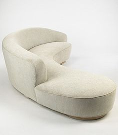 Vladimir Kagan - Free Form Curved Sofa w/Arm #GISSLER #interiordesign
