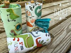 Dog Poop bags dispenser /waste bag holder Dino by QTPET on Etsy Fusible Interfacing, Your Dog, Sunglasses Case, Pup, Dogs, Fabric, Handmade, Stuff To Buy, Etsy