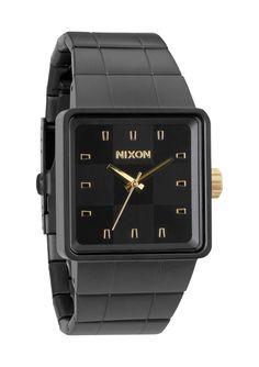 Reloj Nixon Quatro Matte Gold/Black