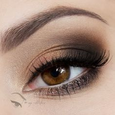 Simple Chic by Natalia J: champagne, rose gold, and brown eye makeup