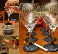 Chalk Glasses