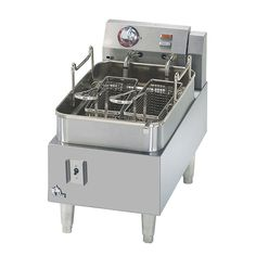 Countertop Fryer - Electric 15 lb. Oil Capacity