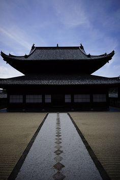 Path | 道路 | Chemin | путь | Sentiero | Camino | Dōro | Pasaje | проезд | Manpuku-ji temple, Kyoto, Japan