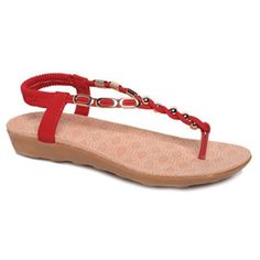 Fashion Shoes, Footwear & Trendy Handbags, Purses for Women and Men Beaded Shoes, Beaded Sandals, Red Sandals, Mens Fashion Shoes, Red Fashion, Trendy Handbags, Handbags Online, Cheap Shoes, Red Shoes