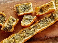 Herbed Garlic Bread    Recipe courtesy of Tyler Florence  Show: Tyler's Ultimate    Get Herbed Garlic Bread Recipe from Food Network