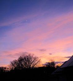 sunset haiku: rose, peach, purple/ sun-graffiti morphs as light fades/ moon rides day's art