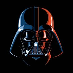 """If my dad incinerated my aunt and uncle, repeatedly threatened my friends' lives, and chopped my dominant hand off, I probably wouldn't have tried so hard to see the """"good"""" in him. But then again, I am no Like Skywalker! #darthvader #vader #starwars #starwarsart #thedarkside"""