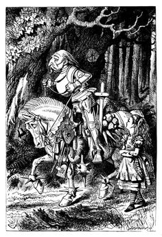 'Through the looking glass and what Alice found there' by Lewis Carroll; with fifty illustrations by John Tenniel. Published 1897 by Macmillan & Co.