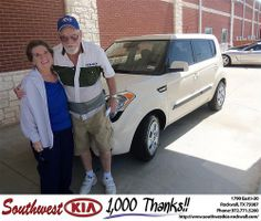 Happy Birthday to Dewey Campbell from Mary Parks and everyone at Southwest KIA Rockwall! #BDay