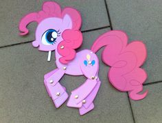 Paper Toy: Pinkie Pie by Trunksi.deviantart.com Awesome printables!!!!