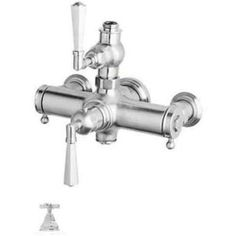 Rohl A4817 Palladian Exposed Thermostatic Valve, Available in Various Colors, Silver