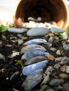 make a fairy garden by Cathy @ Nurturestore.co.uk, via Flickr