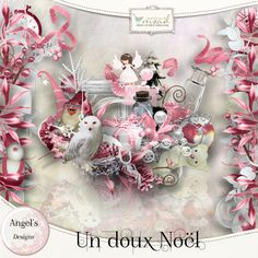 Un Doux Noël [ad_undouxnoel] - €3.70 : My Scrap Art Digital, Passion for Digital Scrapbooking