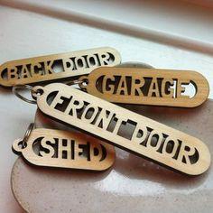 Key Labelling Key Ring