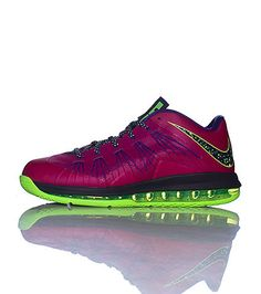 NIKE Lebron James Men's low top sneaker Lace up closure Padded tongue with LJ logo Cushioned sole for ultimate comfort and performance