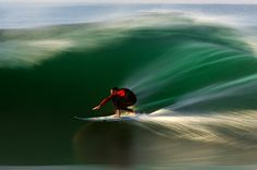 action photography - surfing