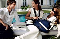 Lily Aldridge e estrela Romee Strijd na Primavera de 2016 da campanha de Carolina Herrera