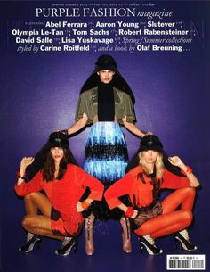 Fierce Photos from the Purple Fashion Magazine Spring 2012 Issue trendhunter.com