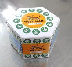 1x10g White Tiger Balm Relief from Body Pain Muscular Joint Aches Headache Thai #TigerBalm