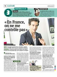 Mika - MetroNews (Paris edition) - Apr 4 2014 - French - page 1 of 2