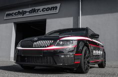 The specialists from the mcchip-dkr tuning division have recently modified the Skoda Octavia RS Combi Diesel, the model receiving a special customized upgr