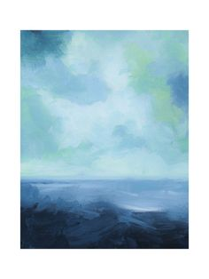 """""""Rough Seas"""" - Art Print by Debra Butler in beautiful frame options and a variety of sizes."""