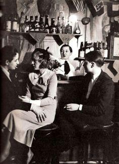 Lesbian Bar 1930's VelvetSeduction @VSToysAndTreats Toys and Treats for Women Who Love Women