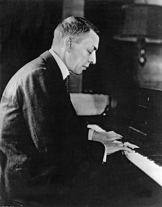 Sergei Rachmaninoff, one of my favourite composers