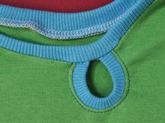 coser gota cuello