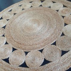 'Sunshine' Natural Jute Rug   We adore the understated raw beauty of this natural jute rug. Designed by us, RAW Sunshine Coast, we've had the 'Sunshine' rug hand woven from sustainable natural fibres in Agra, India by a talented team of artisans. It features a beautiful circular pattern and would add texture and warmth to any room.   Colour: Natural   Size: 120cm round (also available in 90cm and 150cm)     Each rug is hand woven, making it uniquely different and due to the nature of ...