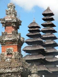 Pura Taman Ayun, Mengwi - Bali, Indonesia