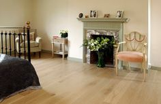 Oak Engineered Overlay Silver White Pre-oiled 160 x 15 mm available at The Natural Wood Floor Co Grey Wood Floors, Natural Wood Flooring, White Oak Floors, Wooden Flooring, Wood Bedroom, Bedroom Flooring, Engineered Oak Flooring, Dust Mites, Interior Design