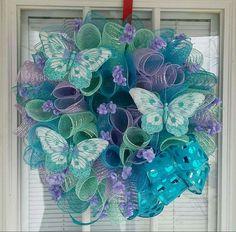 54 Ideas For Diy Summer Wreath Ideas Bows Deco Mesh Crafts, Wreath Crafts, Diy Wreath, Wreath Ideas, Burlap Wreaths, Easter Wreaths, Holiday Wreaths, Deco Mesh Wreaths, Mesh Wreaths Summer
