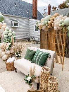 Boho Baby Shower, Baby Shower Themes Neutral, Baby Shower Brunch, Baby Girl Shower Themes, Baby Shower Gender Reveal, Baby Shower Parties, Safari Baby Showers, Baby Shower Green, Baby Shower Boys