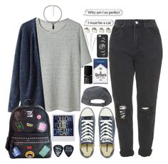 """""""21 guns"""" by tuba-00 ❤ liked on Polyvore featuring Topshop, T By Alexander Wang, Chicnova Fashion, Converse, Casetify, Conair, NARS Cosmetics and Maison Margiela"""