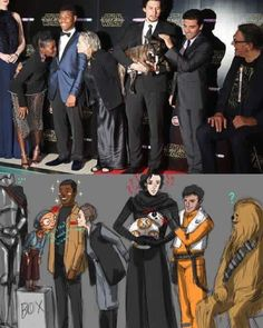 This is so legit (dang I didn\'t know Gwendoline Christy was that tall)