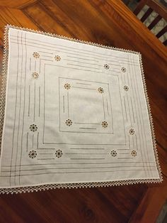 Drawn Thread, Needle Tatting, Happy Flowers, Needlework, Anna, Jewelry Making, Embroidery, Lace, How To Make
