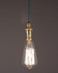 60W Pear Shape Squirrel Cage Filament Bulb